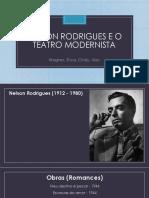 Nelson Rodrigues e o Teatro Modernista