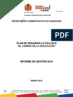 Informe de Gestion - 2018