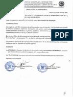 DIRECTIVA SOBRE REUNIONES DE TRABAJO