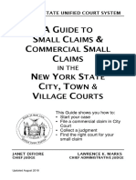 Small Claims Handbook