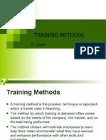 Training Method