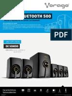 Ficha Home Theater Bluetooth Vorago SPB 500