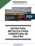 Estrutura Metálica Para Cobertura de Galpão