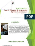 Utilização de ferramentas digitais em sala de aula