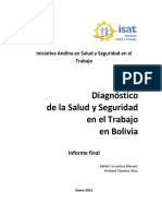 Informe Diagnostico SST Bolivia Abril 2011