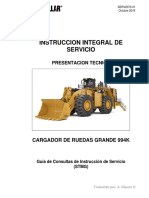 Caterpillar 994k en español