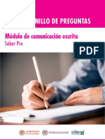 Cuadernillo de preguntas comunicacion escrita Saber Pro 2018.pdf