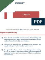 Tariff Presentation Internees