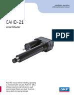 CAHB 21 Operating Manual