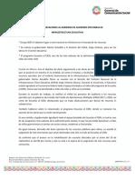 24-07-2019 No Hay Observaciones Al Gobierno de Guerrero Por Obras de Infraestructura Educativa