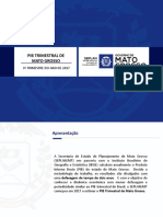 Apresentação PIB TRI MT - 3° tri 2017