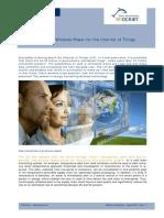White Paper Internet of Things EnOcean
