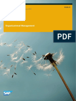 Organizational Management BA (SAP)