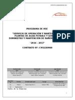 Programa de Hse 2016 Disal- Sgscm Chile Ltda