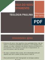 Teologia Paulina - Dikaiosuné