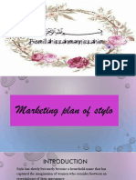 STYLO Marketing Plan
