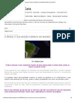 Despertar de Gaia_ o Brasil e Sua Missão Kármica No Mundo