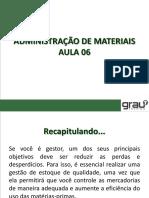 Administração de Materiais Aula 06