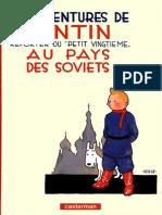Herg' - Tintin au pays des soviets