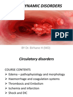 Hemodynamic Disorder
