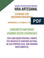 Saboaria Aroma - Saboaria Aromaterapia - Saboaria Artesanal - Sabonete Natural [ NEGÓCIO SABOARIA ARTESANAL]]