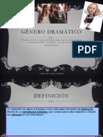 El Genero Dramatico Estructura