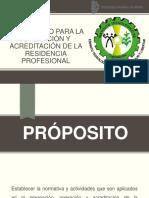 Lineamiento Para La Operación y Acreditación de La Residencia Profesional 3