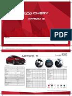 Chery Arrizo 5