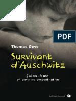 Survivant d'auschwitz
