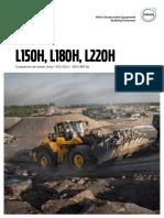manual maquinaria L150H L180H L220H