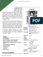 Anaïs Nin - Wikipedia, La Enciclopedia Libre