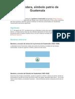 Cambios de La Bandera de Guatemala