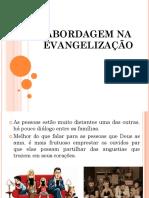 Abordagem Na Evangelização
