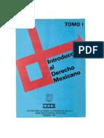 Introducción al Derecho Mexicano