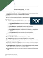 Ejemplo Procedimiento IPER de Calidad Cinco Puntos S.a.