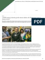 ″PSDB mais à direita pode atrair eleitor de Bolsonaro para a democracia″ _ DW Brasil _ Notícias e análises do Brasil e do mundo _ DW _ 20.08.2019
