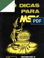 100 Dicas Para MSX