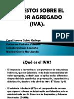 IMPUESTOS SOBRE EL VALOR AGREGADO (IVA) sena.ppt