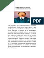 Novena Dr Jose Gregorio