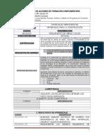 Accion de Formación Presupuesto de Obras Civiles