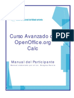 Manual a Vanz a Do Open Office Calc