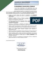 01.- Politica de Seguridad y Salud en El Trabajo