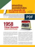 MOMENTOS TRASCENDENTALES EN EL DESARROLLO DEL CONCILIO A.D.