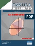 MATEMÁTICA PARA BACHILLERATO