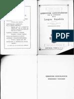 Ejercicios Lexicologicos