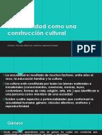 La Sexualidad Como Una Construcción Cultural