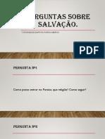 Perguntas Sobre Salvação.pptx