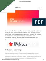 Guía de Tendencias de Diseño 2019 en Behance