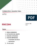 Instrucciones Copiadoras Ricoh Empresa