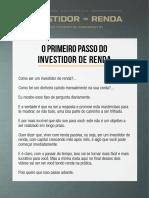 Investidor Renda Masterclass 01